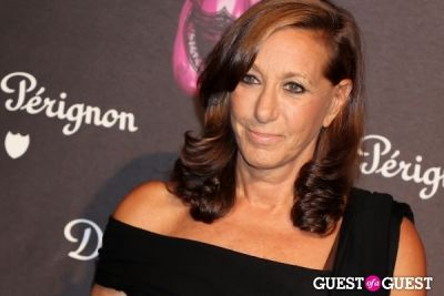 donna karan in Dom Perignon & Jeff Koons Launch Party