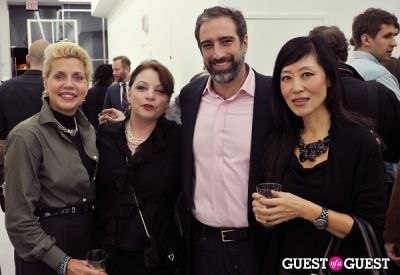 jenny park-adam in Mauro Bonacina exhibition opening reception