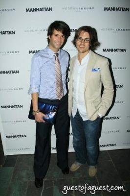 douglas marshall in Manhattan Magazine Release Party