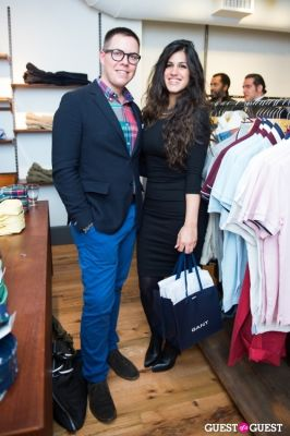 dannia hakki in GANT Spring/Summer 2013 Collection Viewing Party