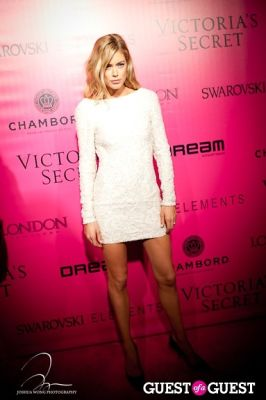 doutzen kroes in Victoria's Secret 2011 Fashion Show After Party