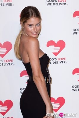 doutzen kroes in God's Love We Deliver 2013 Golden Heart Awards