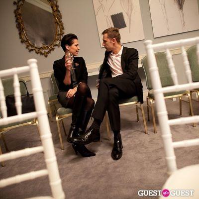 artur melentin in Queen Sophia Spanish Institute Celebrates Balenciaga