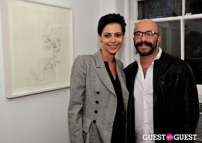 dovile drizyte in Joseph Ryan - New Works exhibition opening at Galerie Mourlot