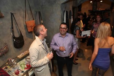 dr. nicholas-toscano in A. Turen Fashion's Night Out