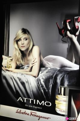 dree hemingway in Celebration for Salvatore Ferragamo's New Perfume ATTIMO