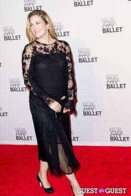 drew barrymore in New York City Ballet's Fall Gala