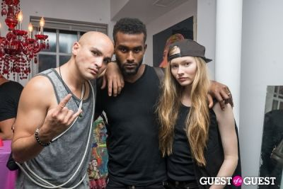 carlens sainvil in Galore Magazine Kick-Off Party