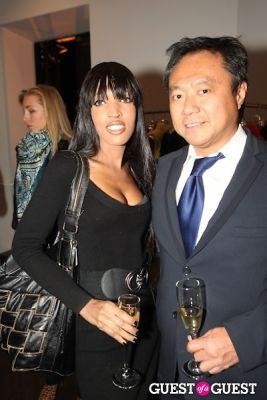 elena ayot in Fortuna Auction Private Preview Party