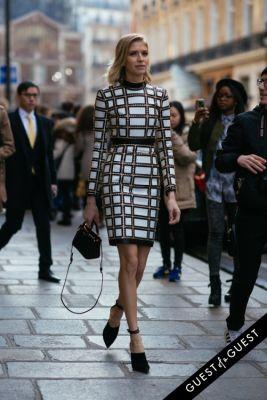 elena perminova in Paris Fashion Week Pt 2