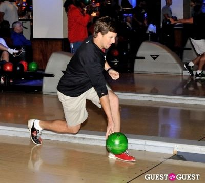 eli manning in NY Giants Training Camp Outing at Frames NYC