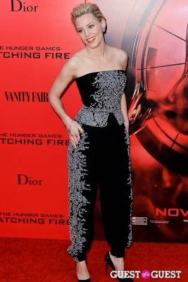 elizabeth banks in The Hunger Games: Catching Fire