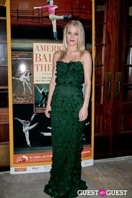 elizabeth gilpin in American Ballet Theatre Opening Night Fall Gala