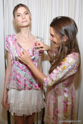elizabeth glynn in Juliette Longuet Fashion show at Soho House - Sneak Peek