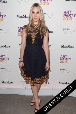 elizabeth kurpis in Art Party 2015 Whitney Museum of American Art