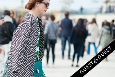ella catliff in Paris Fashion Week Pt 4