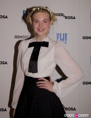 elle fanning in FIJI and The Peggy Siegal Company Presents Ginger & Rosa Screening