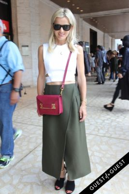 elle strauss in NYFW Style From the Tents: Street Style Day 4