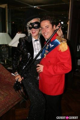 justin etzin in Lovecat Magazine Halloween Dinner Hosted by Jessica White and Byrdie Bell