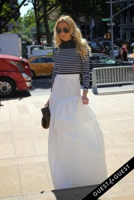 elshane in NYFW Style From the Tents: Street Style Day 1