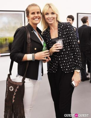 ulrika talling-smith in Kim Keever opening at Charles Bank Gallery