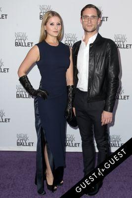 elysia dawn-ramasar-and-andrew-kaminski in NYC Ballet Fall Gala 2014