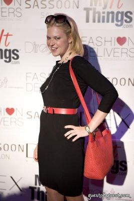 emily brill in My It Things Runway Show