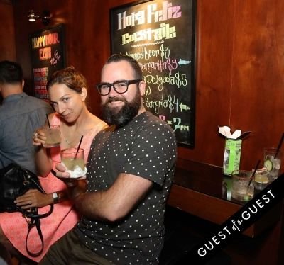 nathan hazard in Ludlows Jelly Shots Cocktail Crawl DTLA