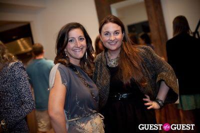 emily gannett in Chloe + Isabel Launch Party