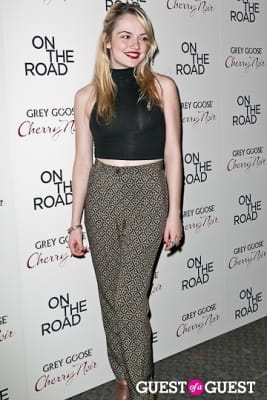 emily mead in NY Premiere of ON THE ROAD