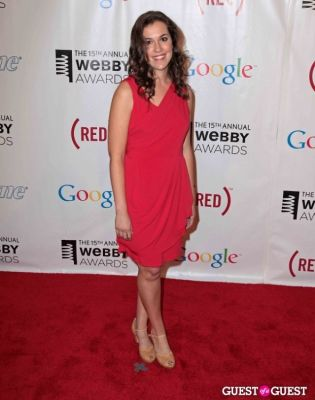emily warren in The 15th Annual Webby Awards