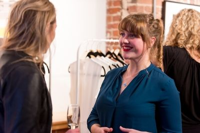 emma efchweiler in Kamila Dmowska Holiday Trunk Show