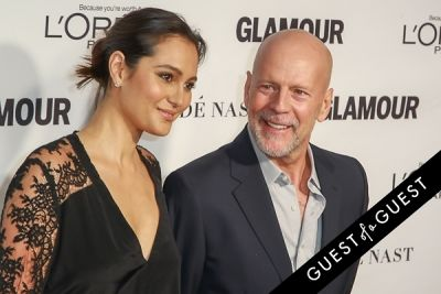 bruce willis in Glamour Magazine Women of the Year Awards