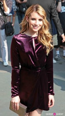 emma roberts in Salvatore Ferragamo Presents Women's Resort 2012 Collection