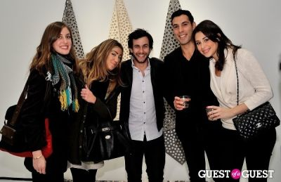 """anthony magne in Ricardo Rendon """"Open Works"""" exhibition opening"""