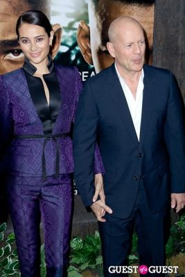 bruce willis in After Earth Premiere