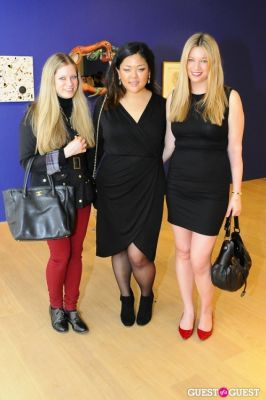 emmie twombly in IvyConnect NYC Presents Sotheby's Gallery Reception