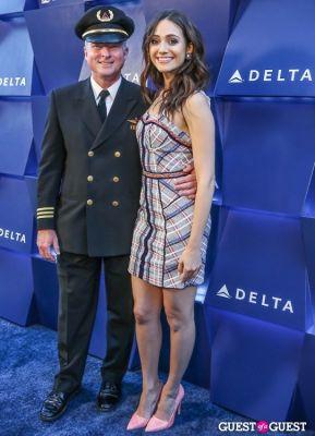 emmy rossum in Delta Air Lines Hosts Summer Celebration in Beverly Hills
