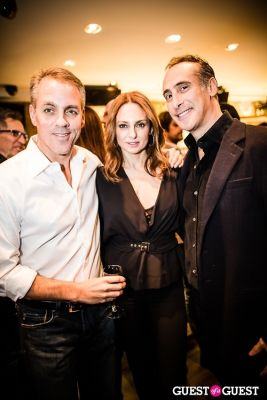 eric holder in Serafina Flagship Opening Party