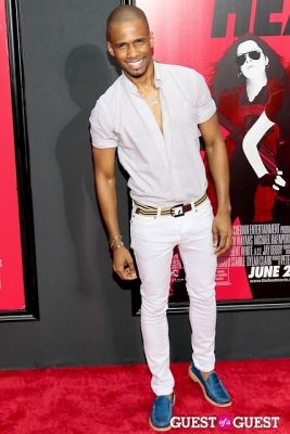 eric west in The Heat Premiere