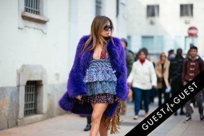 erica pelosini in Milan Fashion Week Pt 1