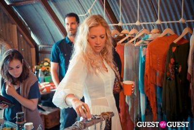 erika wadler in The Styleliner Venice Pop Up Opening Party
