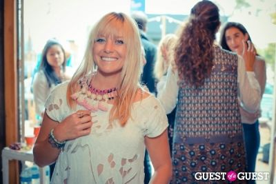 erin wallace in The Styleliner Venice Pop Up Opening Party