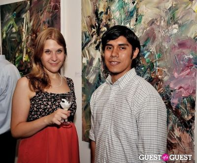 amanda rose-duncan in Unseen Forest - New Paintings by Chen Ping opening