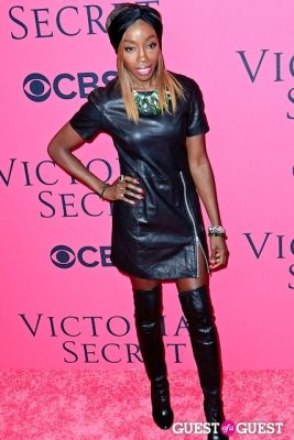 estelle in 2013 Victoria's Secret Fashion Pink Carpet Arrivals