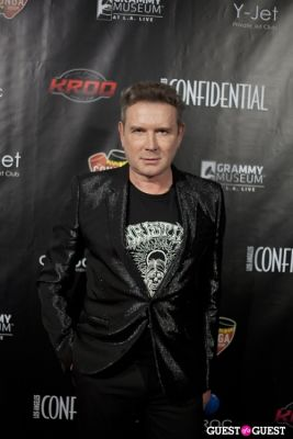 eugene sadovoy in Los Angeles Confidential Grammy Party With Robin Thicke - Arrivals