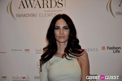 eugenia silva in WGSN Global Fashion Awards.