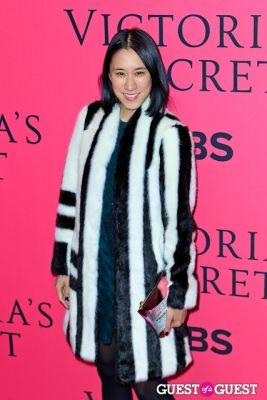 eva chen in 2013 Victoria's Secret Fashion Pink Carpet Arrivals