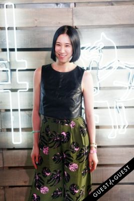 eva chen in Coach Presents 2014 Summer Party on the High Line