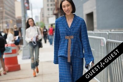 eva chen in Fashion Week Street Style: Day 3